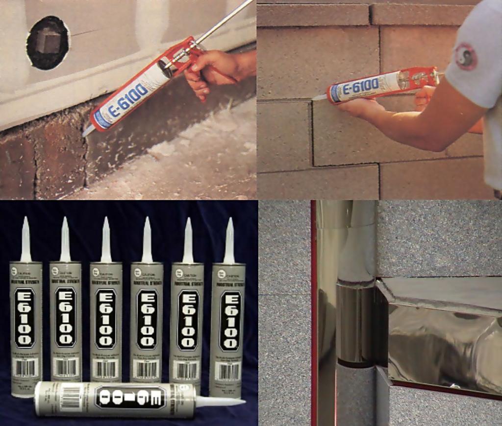 E-6100® 不流平/不下坠胶水及封填剂 2
