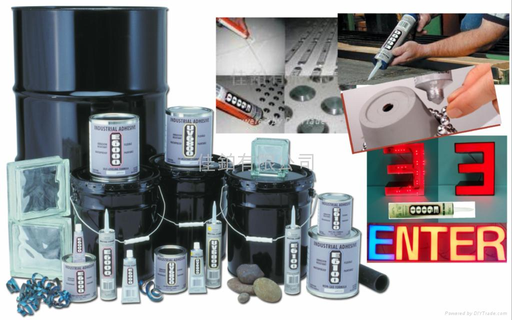 Contractor Application Adhesive E6000 Series E6000系列