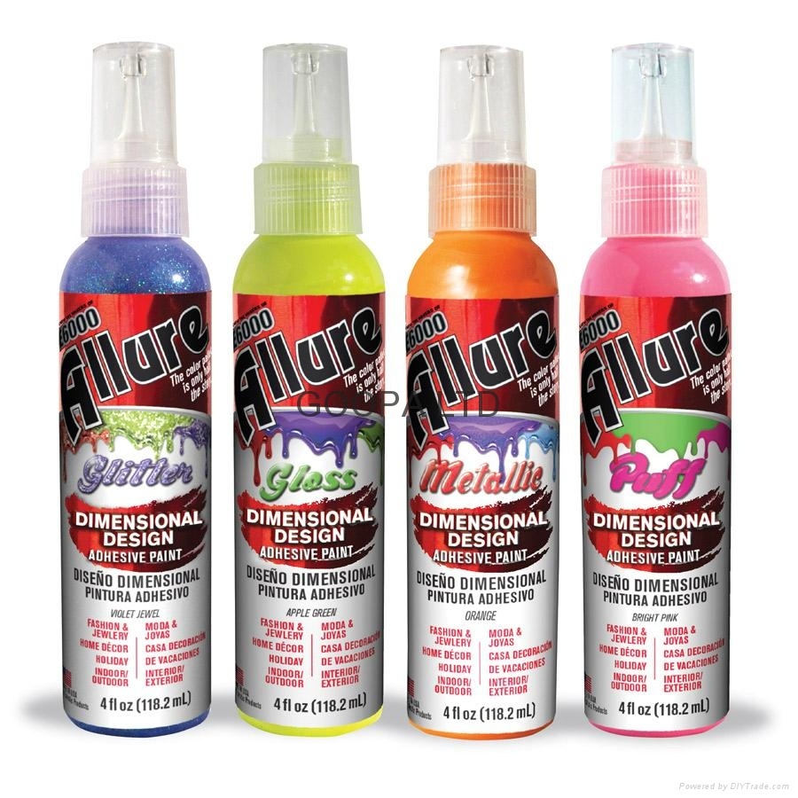 E6000 Allure Dimensional Design Adhesive Paint 粘合剂颜料 1