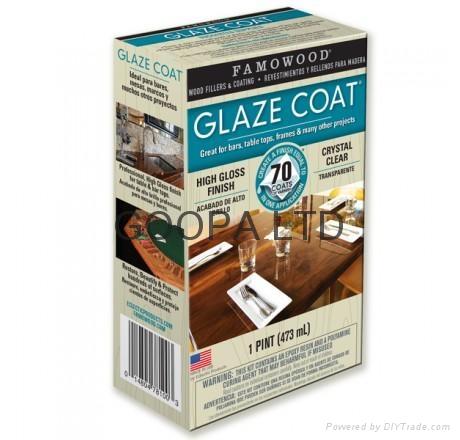 Glaze Coat 晶亮環氧樹脂塗料 6