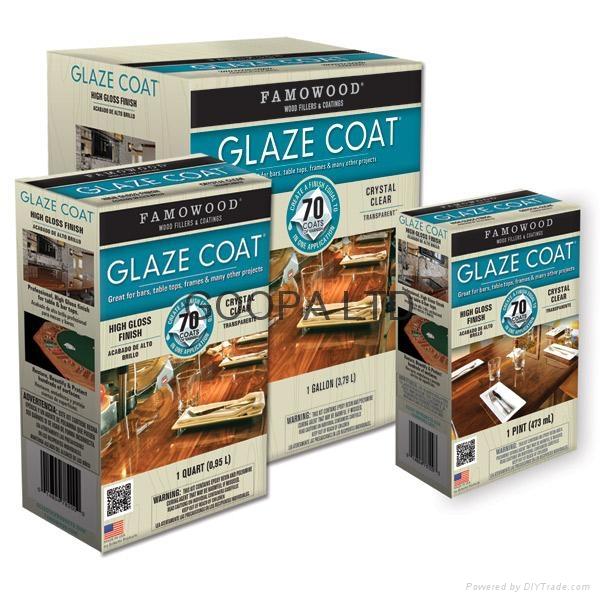 Glaze Coat 晶亮環氧樹脂涂料 5