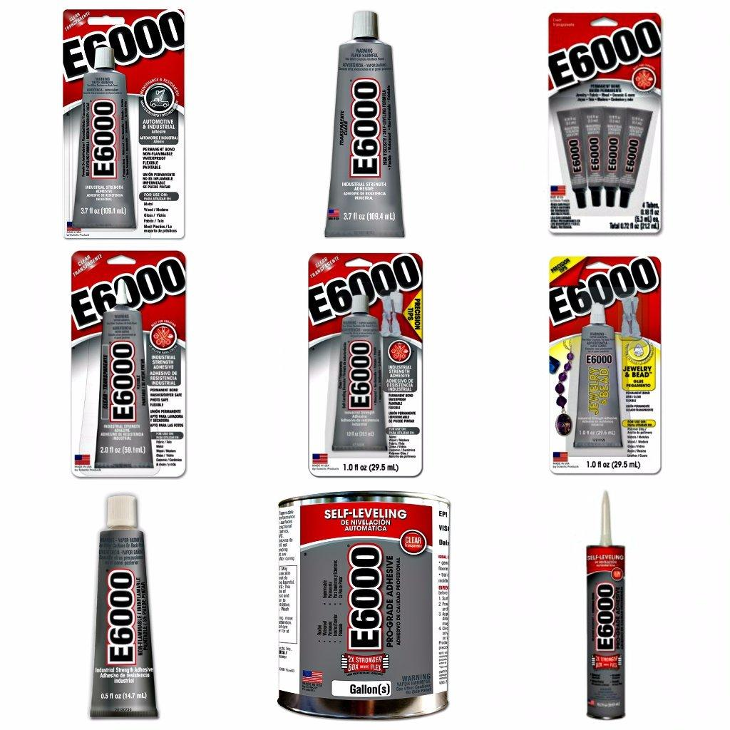 E-6000® Self-Leveling Ahesive Sealant (For Industrial Applications) 1