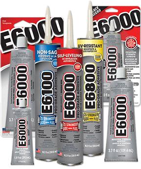 E6000® 迷你透明胶水封涂剂 (0.18fl.oz.) 11