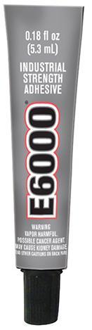 E6000® 迷你透明胶水封涂剂 (0.18fl.oz.) 12
