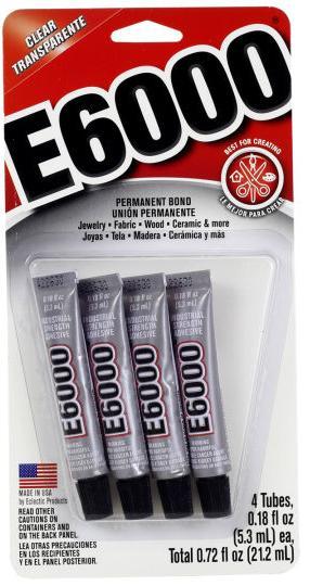 E6000® 迷你透明胶水封涂剂 (0.18fl.oz.) 13
