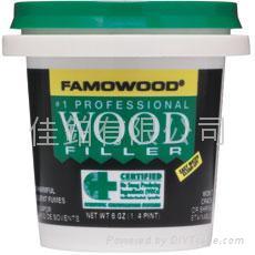 Famowood 水基木質填料