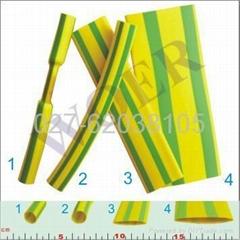 黄绿双色热缩管