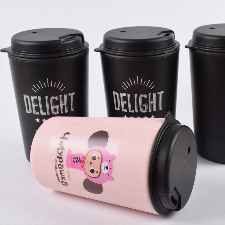 双层PP咖啡杯 3