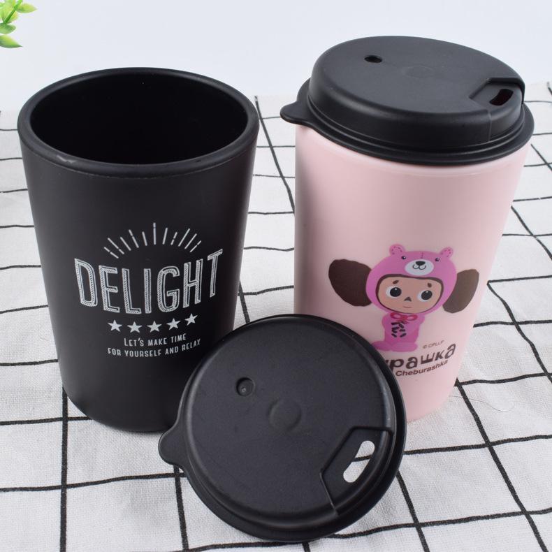 双层PP咖啡杯 4