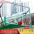 球架配件玻璃纖維籃板木質 4