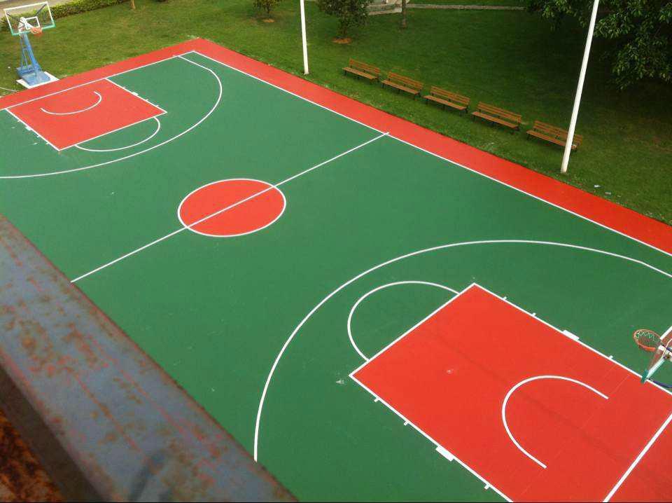 籃球場地材料丙烯酸 2