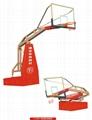 廠家直銷室內電動液壓籃球架 2