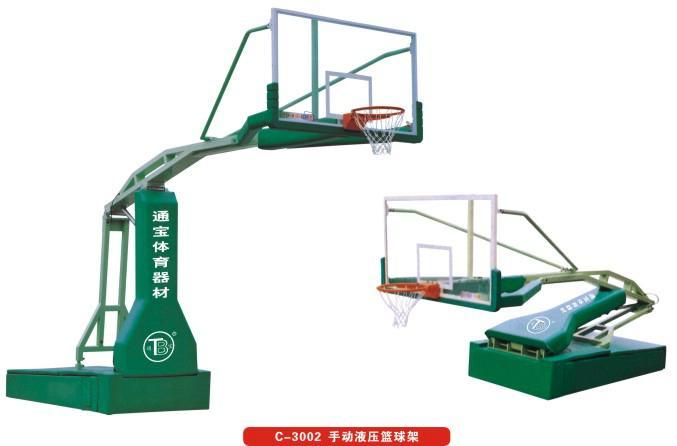 广州厂家直供 手动液压篮球架  1