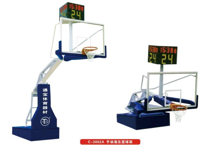 广州厂家直供 手动液压篮球架  2