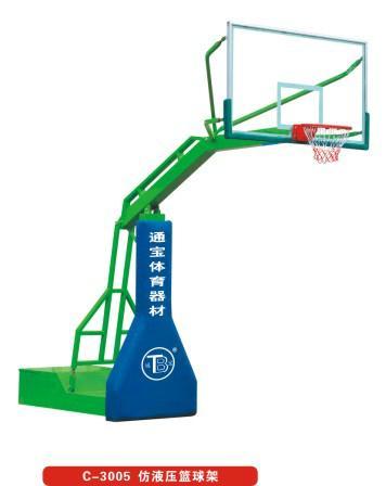 广州通宝体育供应仿液压篮球架 2