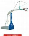 供应仿液压篮球架