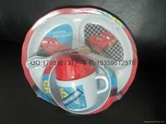 child melamine tableware