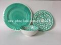 hot selling melamine dinnerware set ( 3 pcs of set) 2