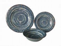 美耐皿四方碗
