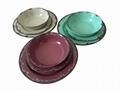 hot selling melamine dinnerware set ( 3 pcs of set) 5