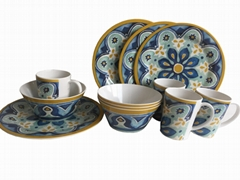 child melamine tableware for 3 set