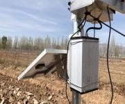 太陽能蓄電池供電高精度無線溫度採集系統北京華夏日盛專業定製