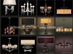 酒店工程吊燈系列產品