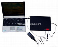 Solar charger for netbook