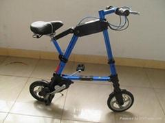 A型迷你折叠电动车