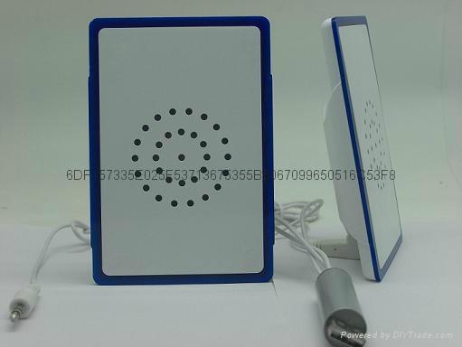 超薄迷你发光USB接口小音箱 1