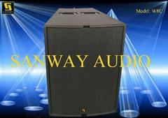 W8C Pro Audio Single 12′′ Three Way Full Range Speaker