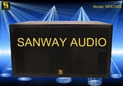 JBL Style SRX728S Dual 18'' Subwoofer/Bass box(SRX700)