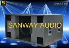 18 Inch Subwoofer Speaker Cabinet LX218
