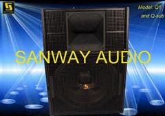 Q1&Q-SUB Guangzhou Pa Audio Manufacturer