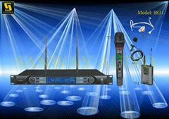 Professional Dual Channels Wireless Microphone