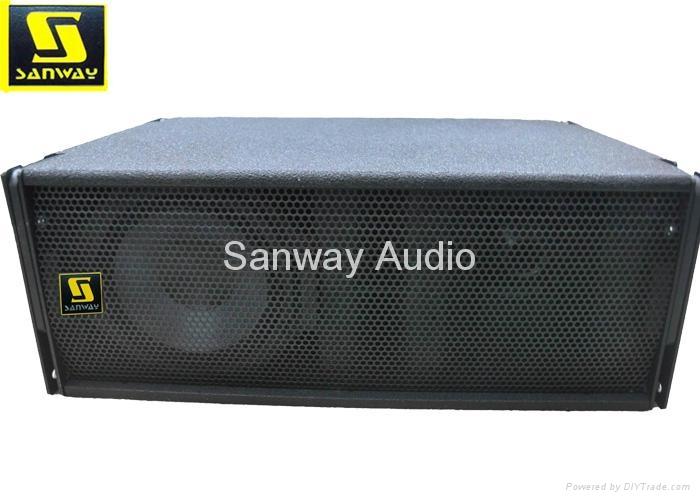 W8LM Professional mini line array speaker system, pa loudspeaker 1