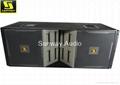 VT4889 Dual 15'' three way line array,