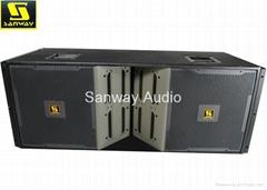 VT4889 Dual 15'' three way line array, line array compact, line array system