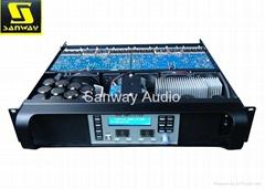 4 x 1300W 13kg Lightweight DSP Amplifier 4 Channel for Speaker Management System