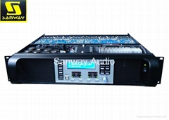 DSP-6KQ 4x 1250W 4 CH High Power PA Amplifier with DSP