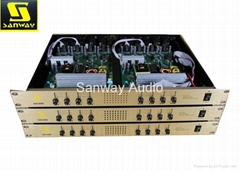 8 Channel Sound Standard Amplifier Class-d for Home Theater System