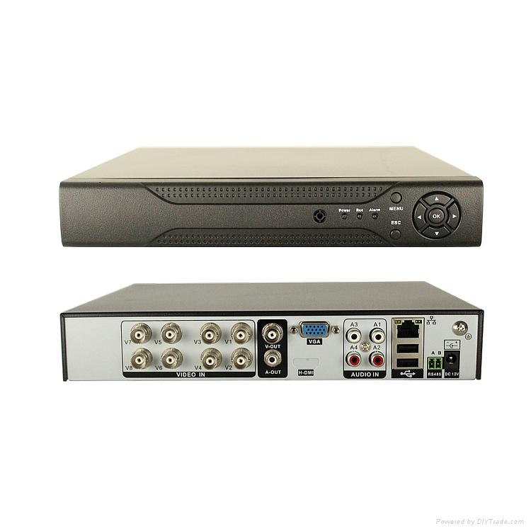 8 CH  1080P  DVR