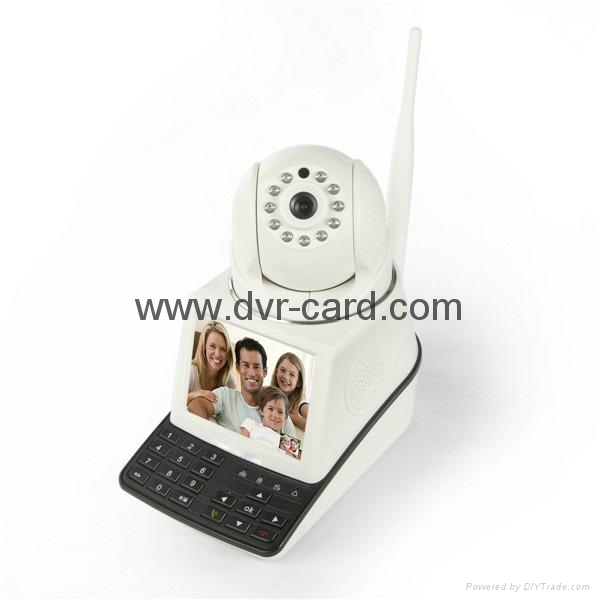 Free Call, P2P WiFi Wireless Network Camera with Wireless Detector 3
