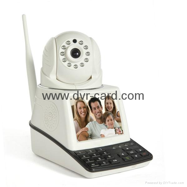 Free Call, P2P WiFi Wireless Network Camera with Wireless Detector 2