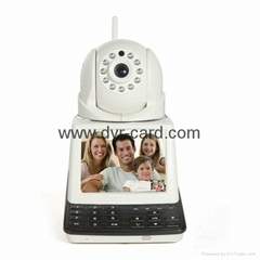 Free Call, P2P WiFi Wireless Network Camera with Wireless Detector