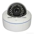 2.0 Megapixel HD Network IR-Dome Camera Waterproof