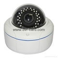 "1/4"" CMOS 1MP HD Network IR-Dome CCTV Night Vision Camera"