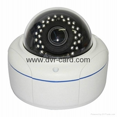 "1/4"" CMOS 1MP HD Network IR-Dome CCTV Night Vision Camera"
