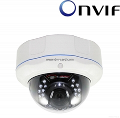 1 Megapixel Mini IR Waterproof IP Dome Camera