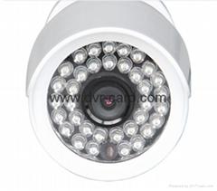 "1/4"" Progressive Scan CMOS OV9712 HD 1.0 Megapixel Network Mini IR-Bullet Camera"